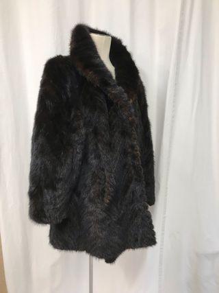 Abrigo piel vison original