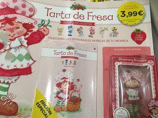 TARTA DE FRESA + POSTAL Y FASCÍCULO