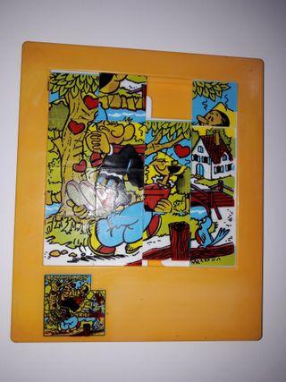 Puzzle laberinto años 70 80 colección juguete.