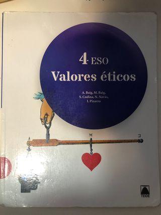 Libro 4ESO valores éticos