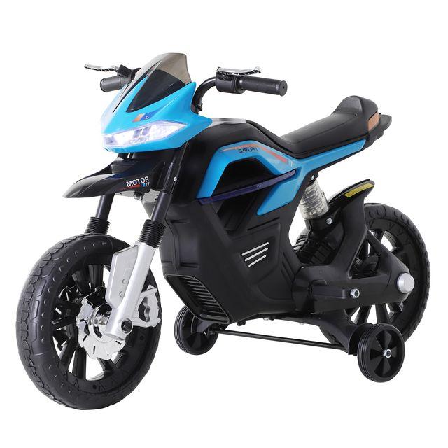 Moto Eléctrica Infantil de Juguete sonidos y luces