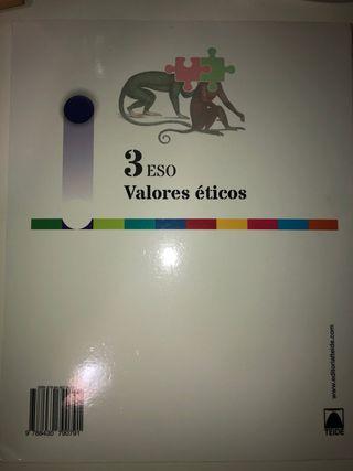Libro Valores Éticos 3ESO