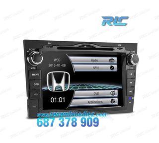 "RADIO NAVEGADOR 7"" HONDA CRV USB GPS TACTIL HD"