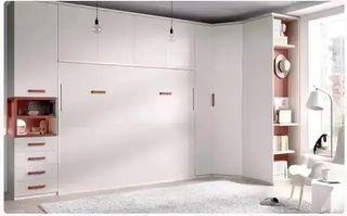 Habitacion con cama abatible rmb*