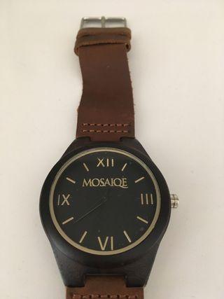 Bamboo watch (reloj de pulsera)