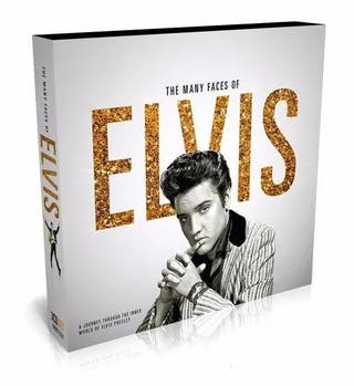 The Many Faces Of Elvis Presley 3cd Precintado