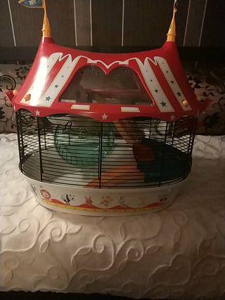 jaula hamster circus