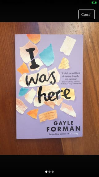 Libro: I was here