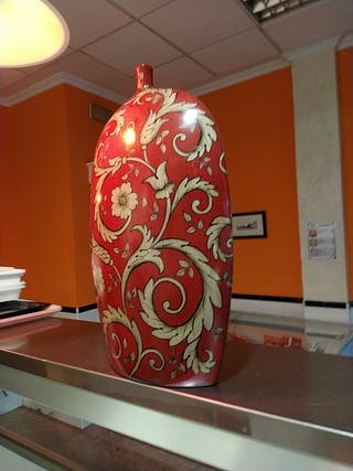 jarrón decorativo