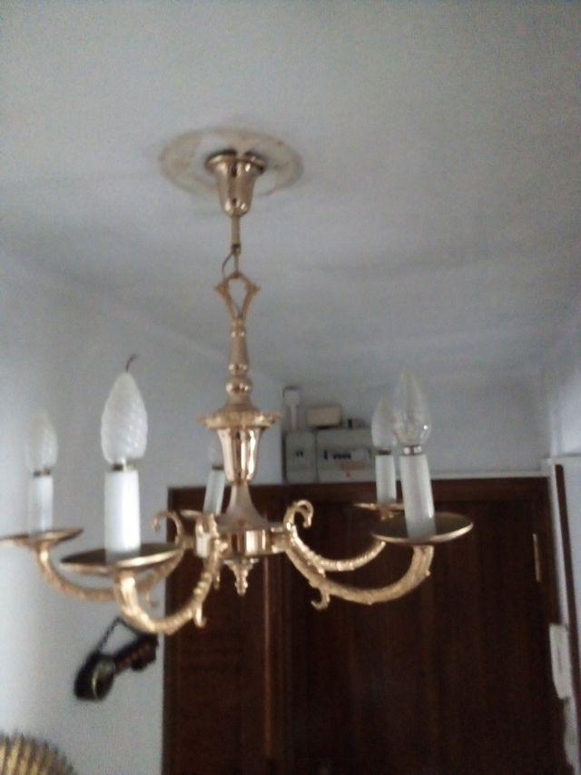 candelabro eléctrico antiguo
