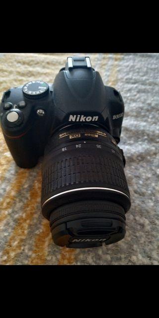 Sin estrenar! Nikon D3000