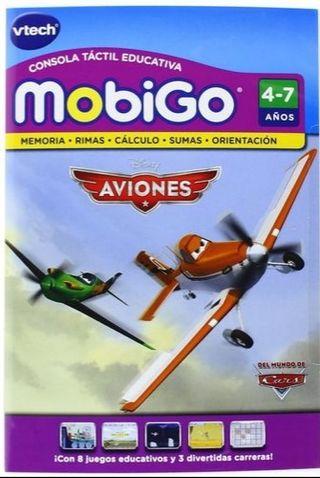 Cartucho Aviones consola Mobigo Vtech