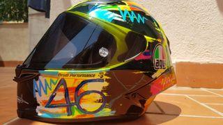 CASCO DE MOTO AGV PISTA GP R WINTER TEST 2019.