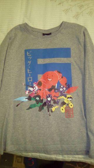 Camiseta T.12 Big Hero 6 (Disney)