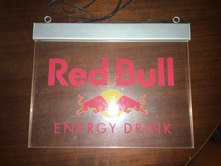 Red Bull Led cartel publicidad original.