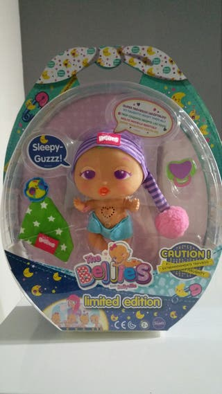 The Bellies Sleepy Guzzz interactive doll for kids limited edition