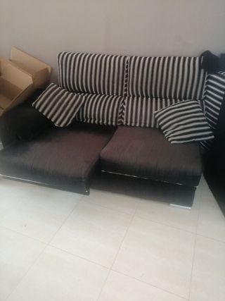 sofá de 3 plazas con arcon