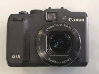 Cámara Digital Canon PowerShot G15