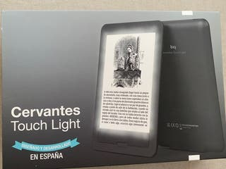 eBook bq Cervantes Touch Light