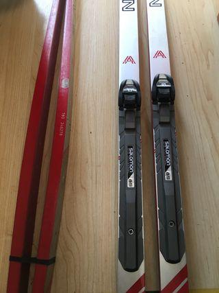 esquí fe fondo clásico 2os Pares
