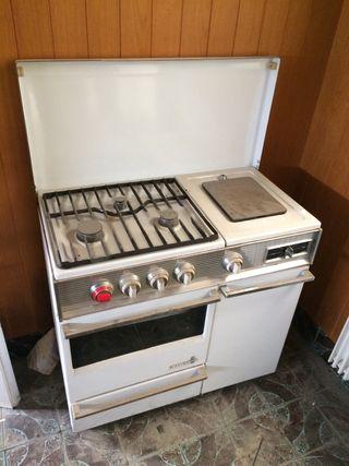 Cocina de butano antigua