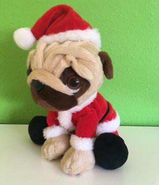 Perrito peluche navideño nuevo