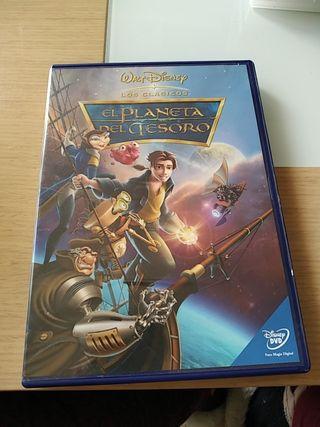 Dvd El Planeta del Tesoro Walt Disney Los clásicos