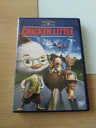 Dvd Chicken Littel Walt Disney los clásicos n47