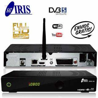 Iris 9200 HD-Receptor de TV por Satélite