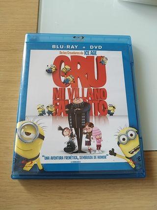 Blu-ray + dvd Gru mi villano favorito