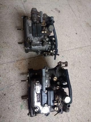 Carburadores Dellortto DHLA 40. Alfa Romeo 2000.