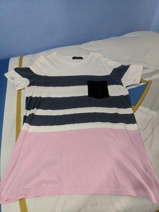 Camisetas Pull and Bear y Bershka