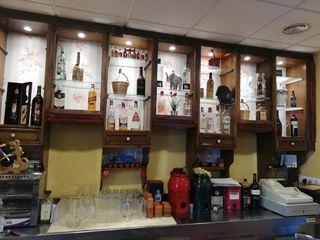 mueble botellero vintage restaurado y nuevo