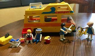 Playmobil colección autocaravana