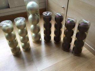 Lote 28 bolas Navidad