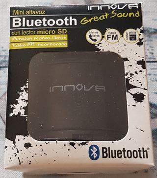 INNOVA: Mini Altavoz Bluetooth lector micro SD