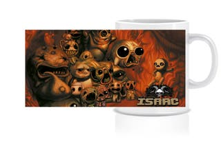 Taza - The binding of Isaac