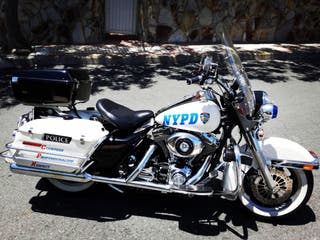 Harley Davison Road King Original Police