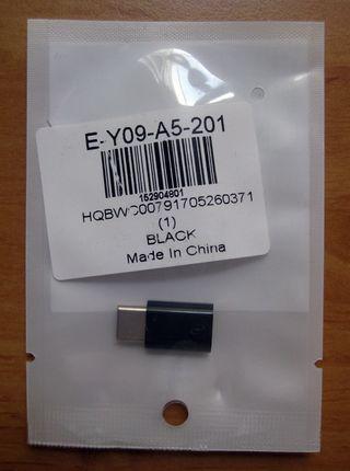 Adaptador Micro USB a USB Tipo-C