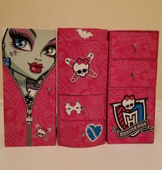 Joyero y closet Monster High