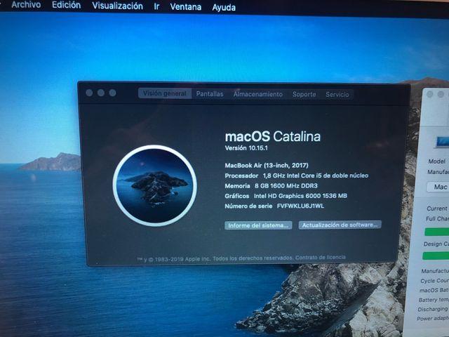 MacBook Air 13 2017 256GB casi a ¡ESTRENAR!
