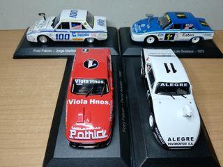 3 Ford Falcon y un Chevy 1/43
