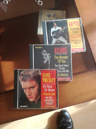 ELVIS PRESLEY TOP HITS 3 CD