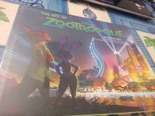 Libro The Art of Zootropolis