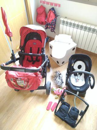 Carro bebé trío Completísimo