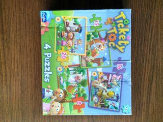 Puzzle Infantil Tickety Toc