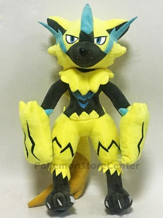 Peluche ZERAORA Gigante 30cm pokemon figura cartas