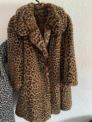 Abrigo leopardo Vintage