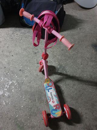 patinete niña