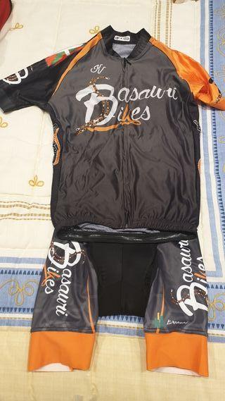 Maillot y culotte ciclismo (Nuevo)